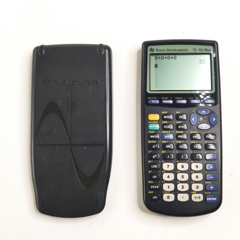 Texas Instruments TI-83 Plus Scientific Graphing Calculator Black