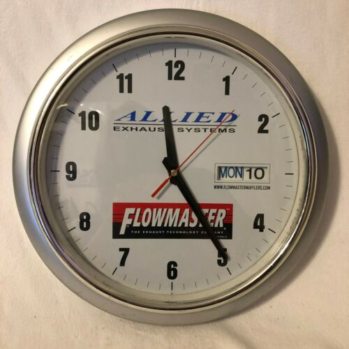 Flowmaster Muffler Advertising Clock