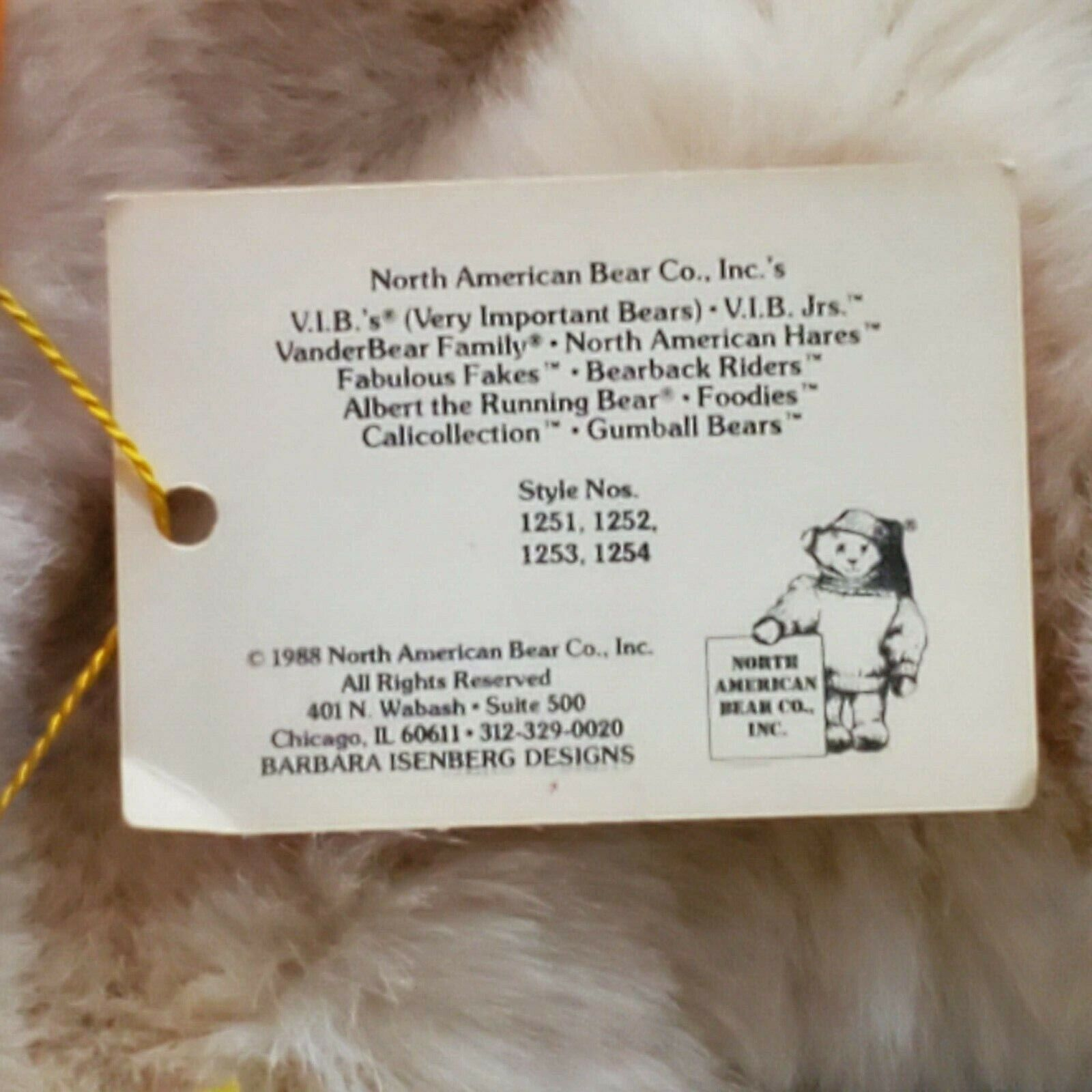 Animal Snackers White Bunny Rabbit Puppet North American Bear Co Easter Easter - $17.99