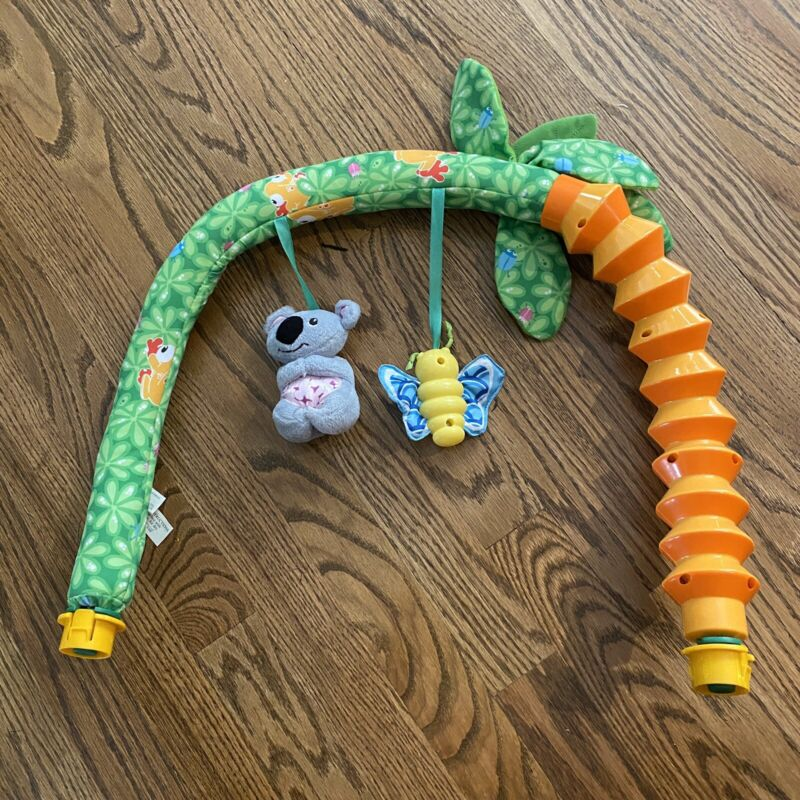 Evenflo Exersaucer Triple Fun Animal Planet Jungle Replacement Part Arch Tree