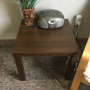 IKEA Lack side end table brown