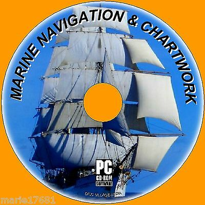 LEARN TO USE MARINE CHARTS & NAVIGATION MAPS BOUYS BEACONS TIDESETC PC CD NEW  Marine Charts
