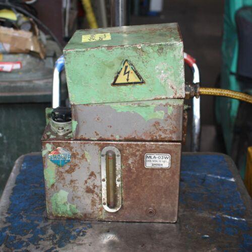 SHOWA Hydraulic power unit pack MLA-03W 0.3L/min 0.25kW tank