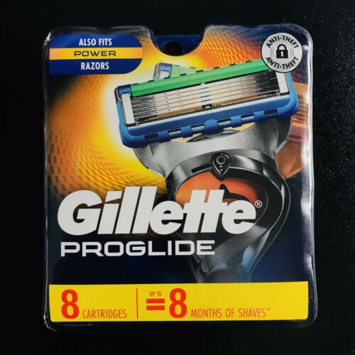 New Gillette Fusion Proshield 8 Count Cartridges~SHIPS IN 24