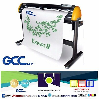 Gcc Expert Ii-52 Vinyl Cutter For Sign And Htv 52 Free Shipping