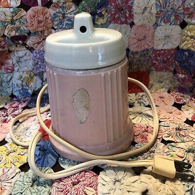Vintage Reddy Kilowatt Hankscraft Baby Bottle Warmer With Cover