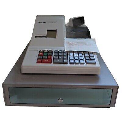 Sharp Electronic Cash Register Model Xe-2055 Keys Instruction Manual Included