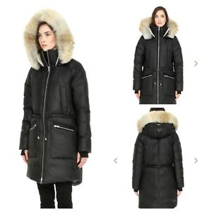 SOIA & KYO Down Winter Parka Jacket - size S