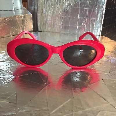 Rockabilly Hot Pink Cat Eye Retro Pinup Sunglasses