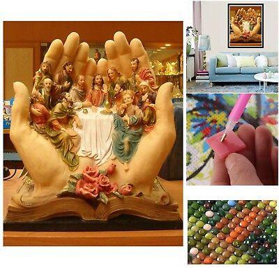 Last Supper DIY 5D Diamond Painting Kit Religion Jesus Embroidery Cross Stitch