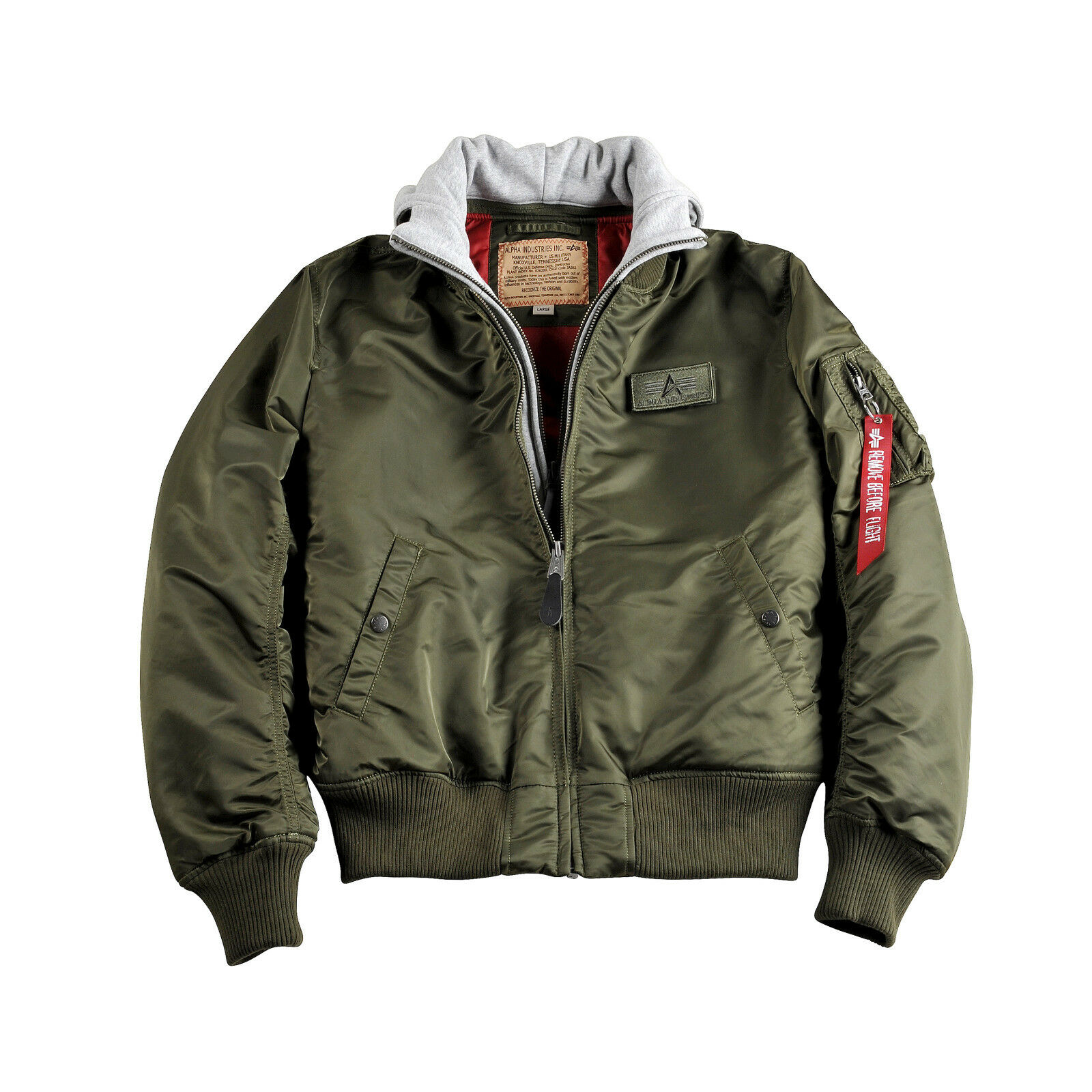 Details about Alpha Industries ma 1 D Tec Jacket Flight Jacket Bomber Jacket Jacket Men's Hood show original title