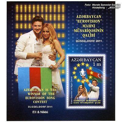 Aserbaidschan Azerbaijan 2011 Eurovision Song Contest, ESC, Düsseldorf, Block **