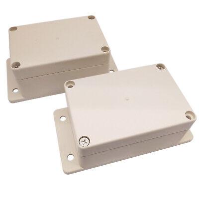 Us Stock 2x Waterproof Plastic Project Box Electronic Enclosure Case 100x68x50mm