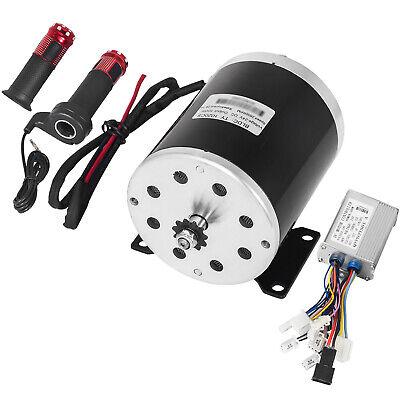 24v 500w Dc Electric Motor Switch Control Throttle Bike Chain Drive E-atv