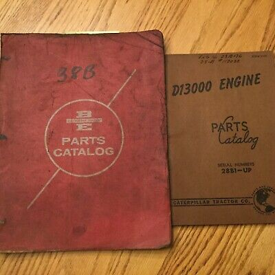 Bucyrus-erie 38b Parts Catalog Manual Book Guide Crane Dragline Clamshell Shovel