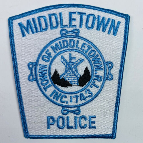 Middletown Police Rhode Island RI Patch (A5)