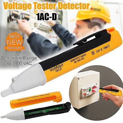 1ac Voltage Tester Pen 901000v Non-contact Volt Alert Sensor Detector Stick