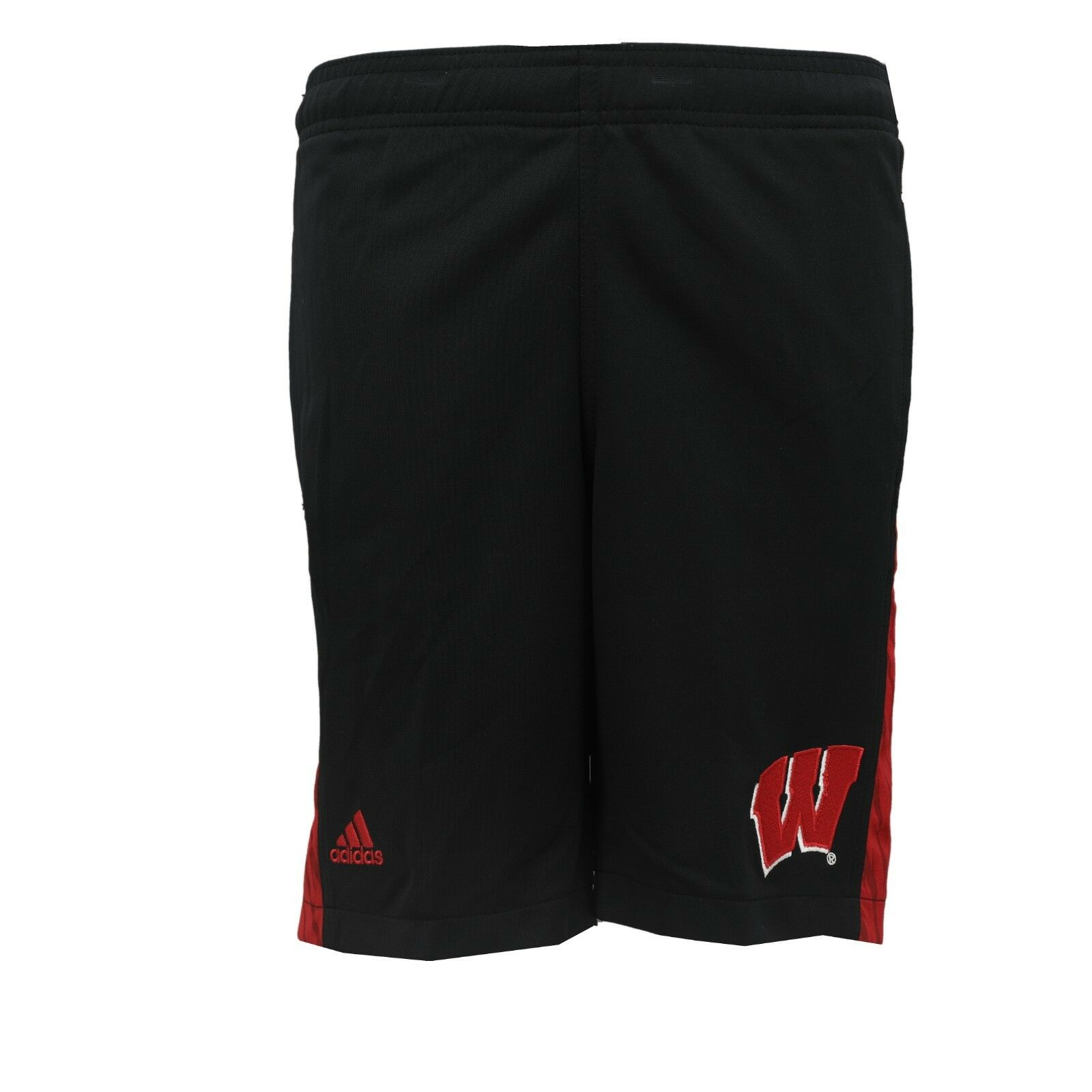 966d4614 Details about Wisconsin Badgers Official NCAA Kids Youth Size Athletic  Basketball Shorts New