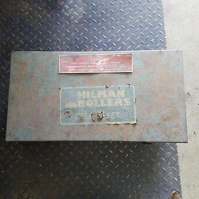 Hieman Rollers 40 Ton Machine Roller W Swivel Locking Pad - Used