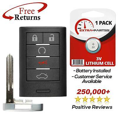For 2008 2009 2010 2011 Cadillac STS Keyless Entry Smart Remote Fob Car Key