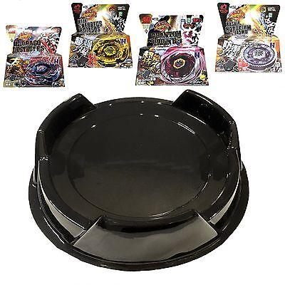 Ultimate Beystadium Set 4 Beyblades w/ Launcher + Black Stadium Bey Stadium USA