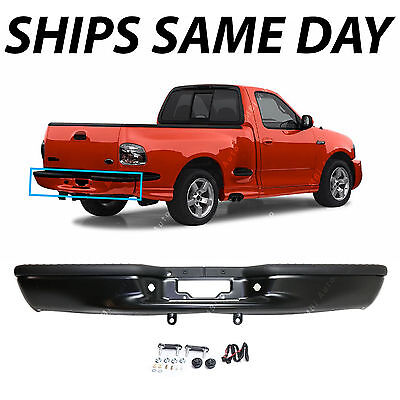NEW Primered Steel Rear Step Bumper Assembly for 1997-2003 Ford F150 Truck 97-03 2003 Ford F150 Bumper