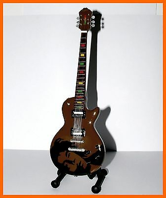Bob Marley Guitarra Miniatura! One Love Collection Reggae Ragga Dub Eléctrica
