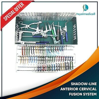 Pro New Shadow-line Anterior Cervical Fusion System Neurospine Products Dist