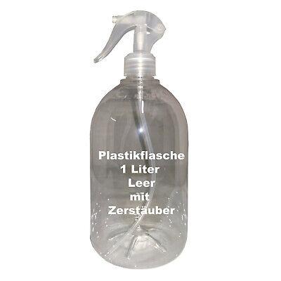 1 Vacíos Botella de Plástico Con Atomizador Para Desinfectante Agua Etc Libre