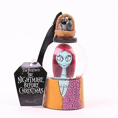 Nightmare Before Christmas Sally Mini Snowglobe Ornament Disney Parks