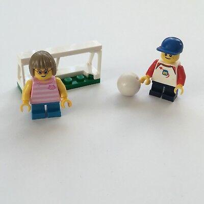 Lego City Fussball spielende Kinder Junge Mädchen aus 60134 NEU Minifigur (Mädchen Lego Spiele)