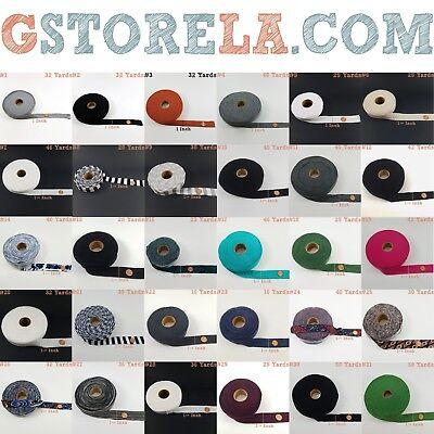 WHOLESALE ~ Unfolded Poly-Cotton Knit Bias Binding Tape - Fabric Tape