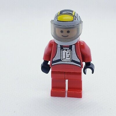 Lego REBEL PILOT B WING minifigure Star Wars 6208