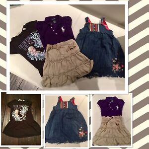 Cute girls outfits size 2-4T