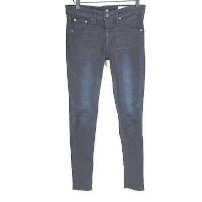 Rag & Bone Jean Womens Legging Skinny Dark Wash Jeans Derby Blue Size 27