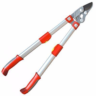 Wolf Garten Telescopic Power Cut Bypass Loppers Garden Hand Tool - RR900T