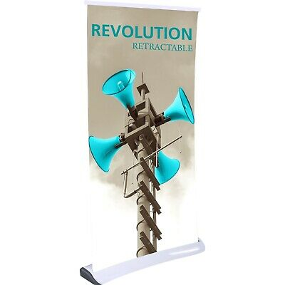Revolution Retractable Trade Show Banner Stand