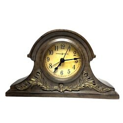 Howard Miller Tolkien Fashion Alarm Clock 645-540 Tambour Style Small Mantel