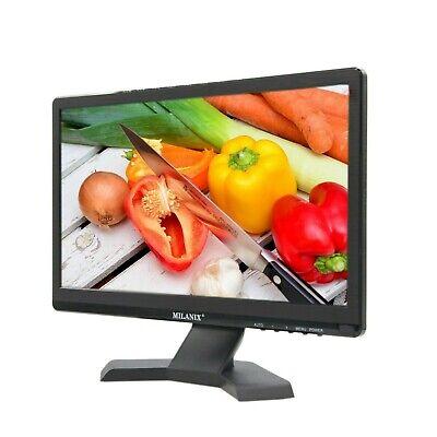 "Portable TV Rechargeable 15.6"" LED Digital Television HDMI VGA FM MMC USB AC/DC"