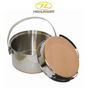 Highlander Stainless Steel Pot & Pan Set