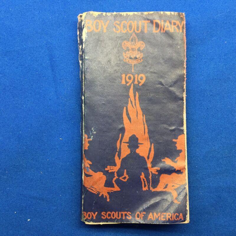 Boy Scout 1919 Boy Scout Diary