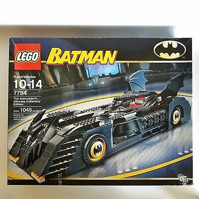 LEGO Batmobile: The Ultimate Collector's Edition #7784 1045-Piece Complete Set