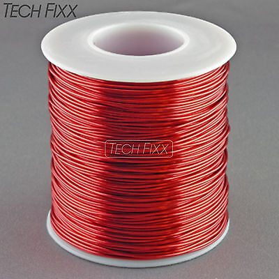 Magnet Wire 20 Gauge Awg Enameled Copper 315 Feet Coil Winding 155c Red