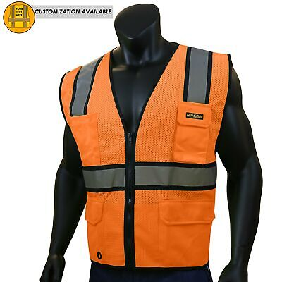 Kwiksafety Official Ansi Class 2 Ultra Cool Surveyors Safety Vest
