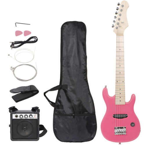 """electric Guitar 30"""" children's Practice 6 String kids Musical Instruments toys Electric Guitars"""