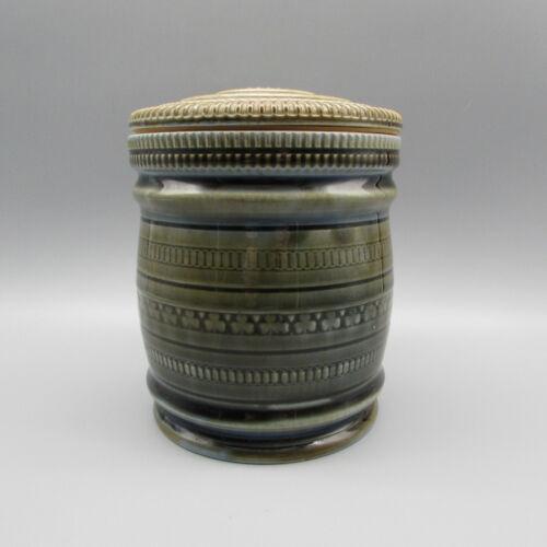 Wade Irish Porcelain Shamrock Green Tobacco Humidor *