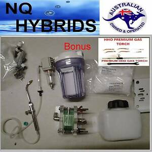 HHO GAS TORCH.. HYDROGEN 11 PLATE GENERATOR POWERED KIT BONUS PRE Coolum Beach Noosa Area Preview