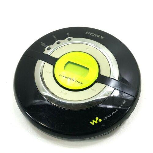 Sony Walkman Mega Bass Portable CD R-RW Player D-EJ100 Works!!