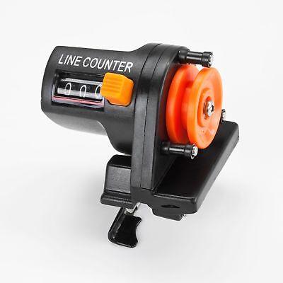 Tiefenmesser 0-999 Meter Schnurzähler Tiefenzähler Line Counter Meeresangeln