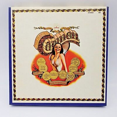 Electric Rock Orchestra The Naked Carmen Reel to Reel Music by Mercury Tapes 70s